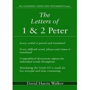 Letters of 1 & 2 Peter Greek translation guide