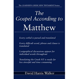 Matthew Greek translation guide