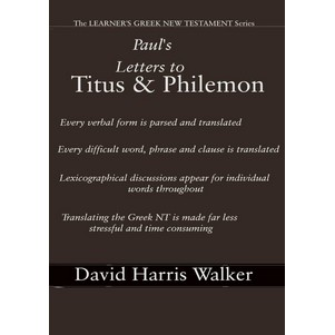 Philemon Greek translation guide Titus